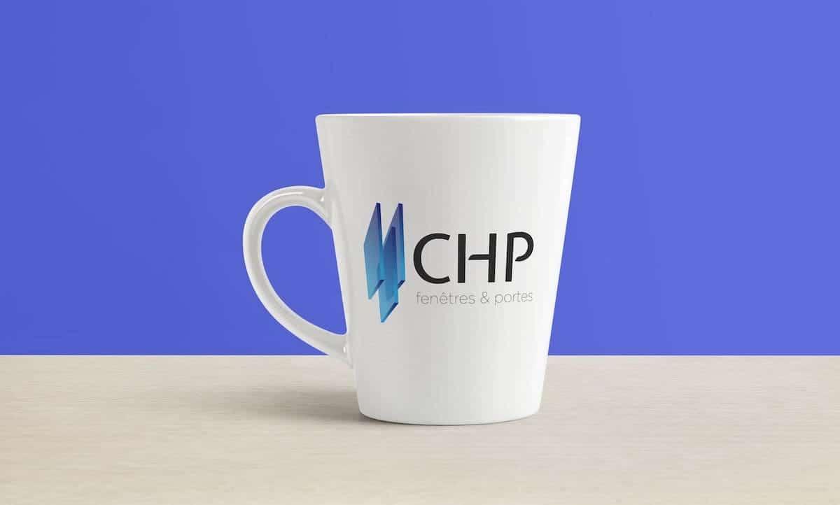 création logo CHP webmaster création site internet graphiste bordeaux poitiers nicolas métivier