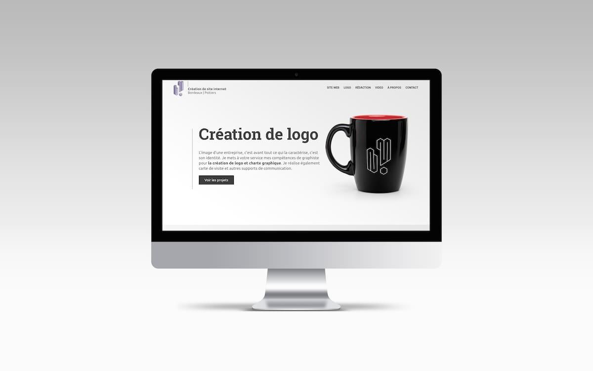 création de site internet webmaster graphiste freelance bordeaux poitiers