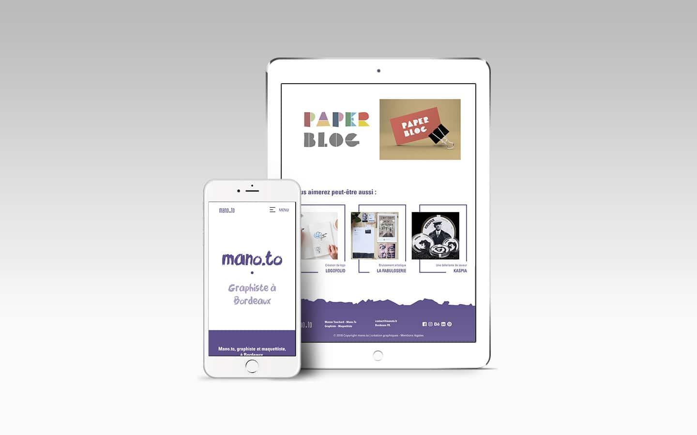 mano.to création de site internet webmaster graphiste freelance bordeaux poitiers