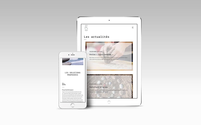 création site internet thème wordpress personnalisé responsive webmaster bordeaux