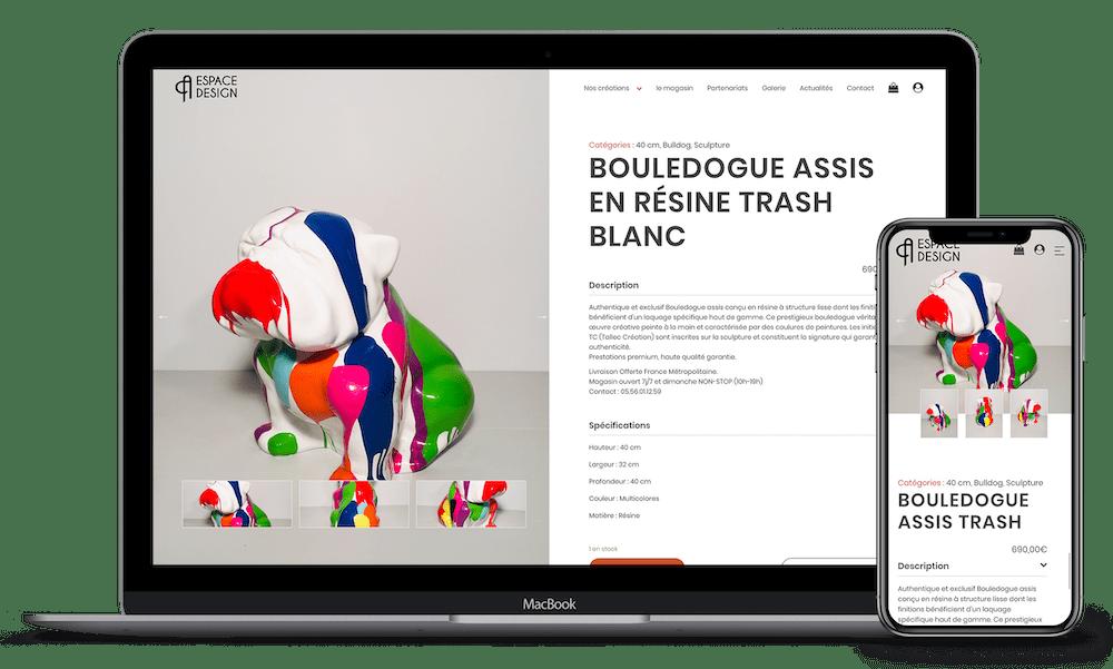 Création de site internet responsive Bordeaux Nicolas Métivier