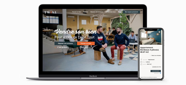 agence twist design et développement site internet poitiers bordeaux