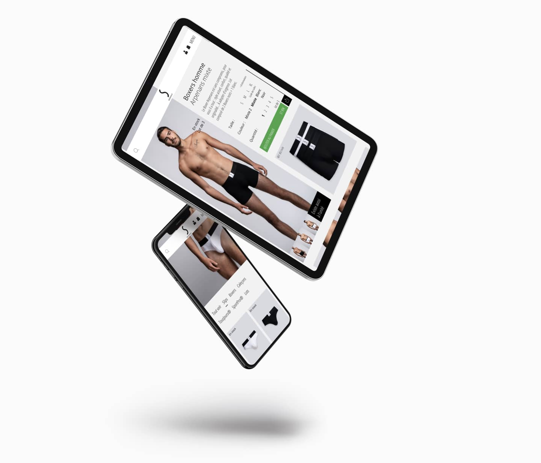 Création site internet Wordpress S BORDEAUX pret à porter e-commerce responsive